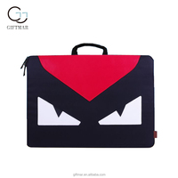 New products custom cute laptop case, unisex gender polyester laptop tote bag