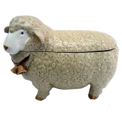 High Quanlity Sheep Animal Shaped Margarine Containers