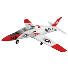 Lanyu 2.4Ghz 6-Channels EPO Plastic 750-1 Goshawk T45 EDF JET RC Glider Airplane Plastic Model Kit For Sale