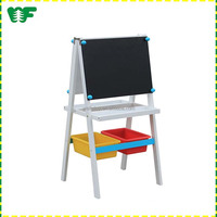 Kids gift standing draw wooden easel