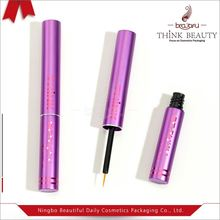 Matte purple&matte 13.5mm H120.5mm dark blue Cosmetic packing Eyelash container/tube
