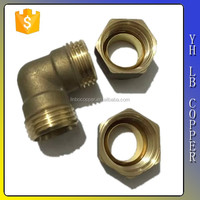 LB-Gutentop Low price pipe fitting names and parts brass elbow compression fitting for copper pipe