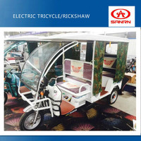 Passenger electric rickshaw price /china made rickshaw