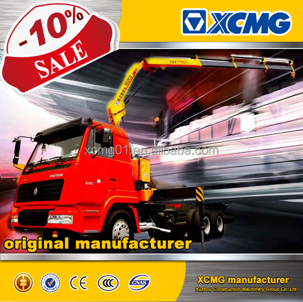 XCMG CE SQ8ZK3Q 8ton truck mounted crane with foldable arm