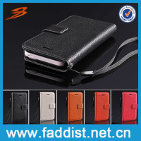 Leather Flip Smart Cover Case for iphone 5c Mobile Phone Cover