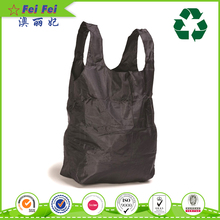 Eco-friendly recycled Customized foldable polyester shopping bag