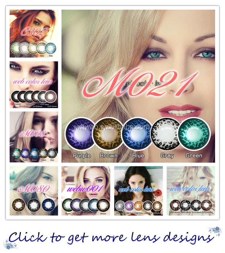 Color diamond 14.2 fairy contact lens