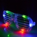4pcs color LED shutter eyeglass