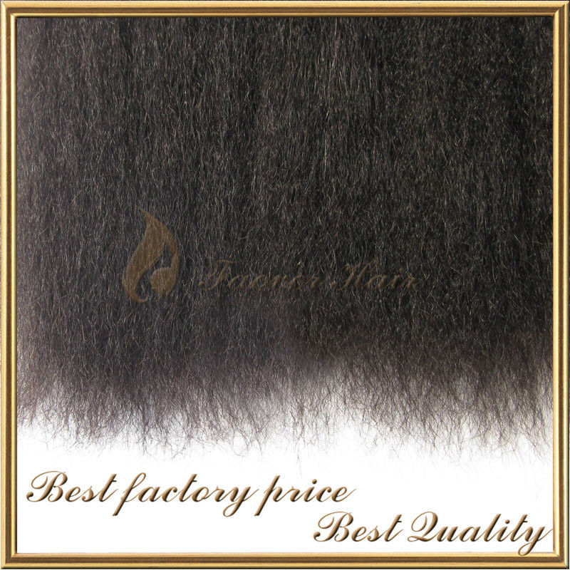 Top Quality Human Hair Unprocessed Yaki Express Hair