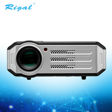 Newest 3000 lumens 4k dlp rohs android mobile phone led projector