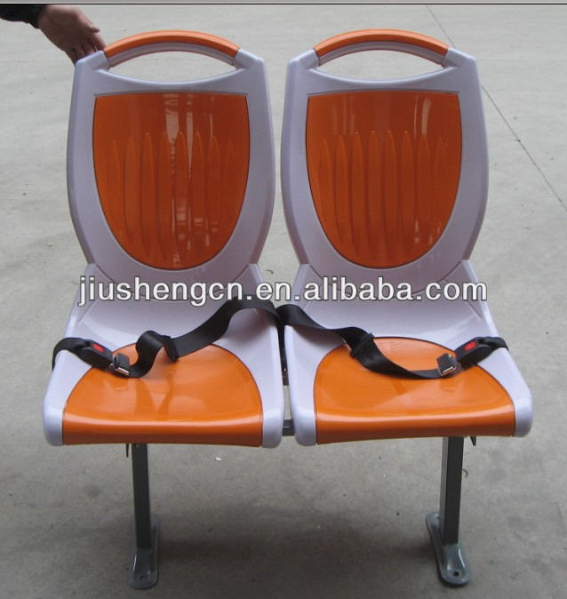 Minibus coach seats with seat belts