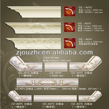 pu carved corner mouldings for home decoration