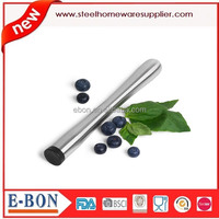 Promotional Advertising Stainless Steel Ice Hammer Cocktail Swizzle Stick Fruit Muddle