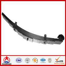 Suspension System leaf spring used auto spare parts