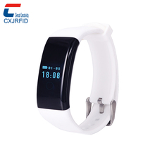 "OLED 0.66"" Screen NFC RFID Bluetooth 4.0 Wristband Heart Rate Monitor Smart Bracelet"