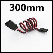 GW005E 300mm servo extended line Extension Lead Wire Cable for Futaba JR