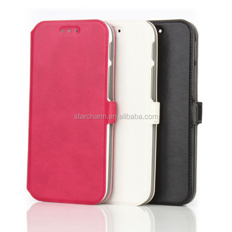 Good Quality Plastic PU Case for HTC One M8