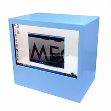 lcd transparent display usb video media player for advertising