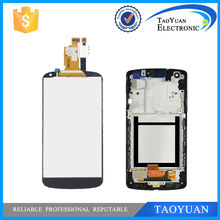 Taoyuan For LG Google for Nexus 4 E960 LCD Display with Touch Screen Digitizer Assembly