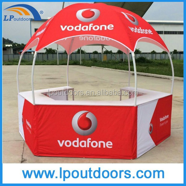 outdoor advertising display counter tent booth tent for sale
