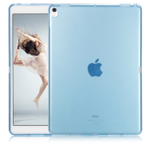 Red blue Flexible Soft TPU Case Crystal Clear cover for ipad pro 10.5 back case