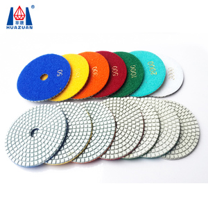 4 inch angle grinder polishing pad for granite marble