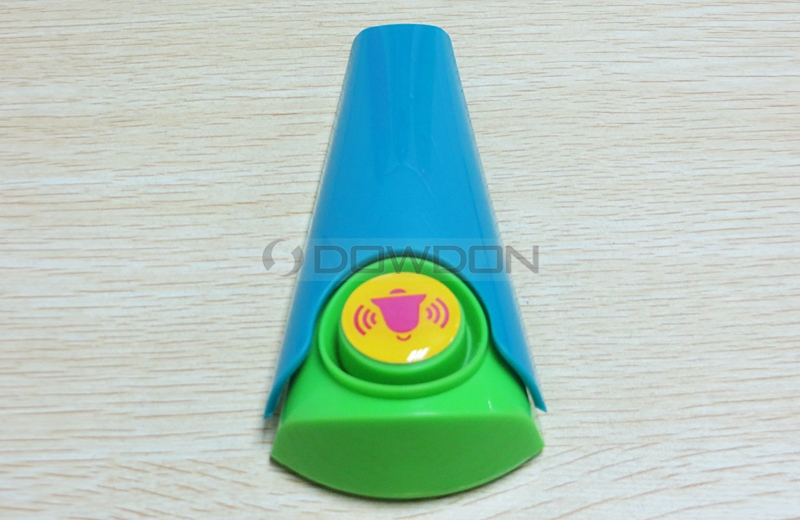 Wedge Shaped Door Stopper Alarm Wireless Home Security Alarm