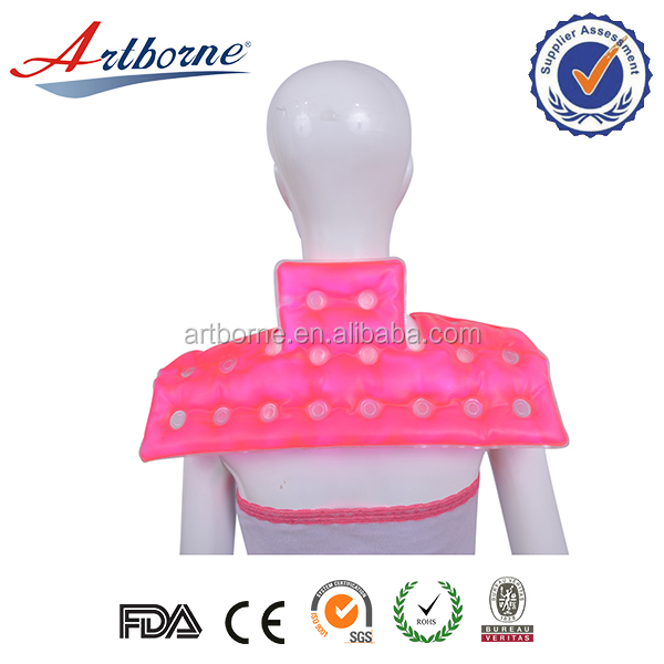 Shoulder ice cold and hot thermal therapy gel heated back warmer pack