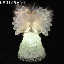 Angel fiber optic wings light, holiday decoration