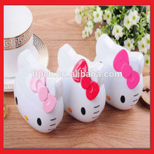 hello kitty battery pack portable power bank charger 3000mah for mobile phone