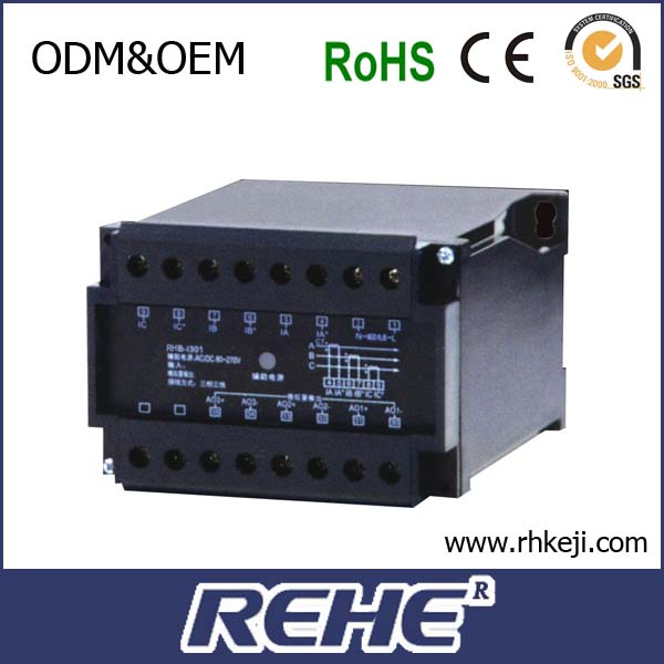 3 phase digital AC current power transducer