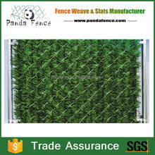 hot sale artificial hedge slats for outdoor garden fence decoration