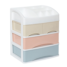 Cosmetic storage macaroon makeup desktop drawer organizer