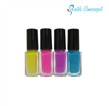 OEM 8ml 100% natural pigment nail polish for kids