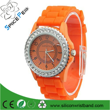 water resistant quartz watch Jelly Form Silica Gel Macarons Ice relojes de goma Quartz Watch Watches In Geneva Relogio Feminino