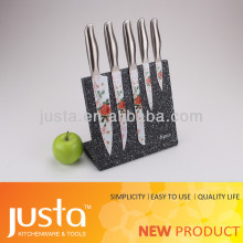 New product teflon coating stainless steel carving knives