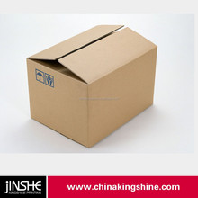 customized foldable corrugated brown paper boxes paper carton box