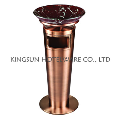 Hot sale high quality hotel recycling ashtray bin stand