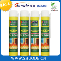 750ML FireProof spray adhesive polyurethane caulk