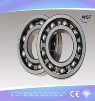 deep groove ball bearing 6207 rubber bearing china bearing for rubber wheel
