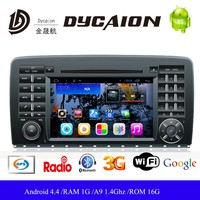 Android 4.4 Car DVD Player For Mercedes Benz W168 Car Dvd GPS Navigation System