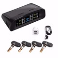 PA Hot selling Car Dual Power LCD BAR PSI Solar Wireless TPMS