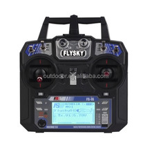 FlySky FS-i6 2.4G 6ch Transmitter Controller Mode 2 with FS-iA6 Receiver for RC Helicopter Multirotor