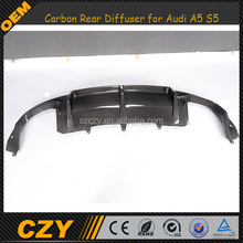 Carbon A5 Auto Rear Tuning Bumper Diffuser for Audi A5 S5 8T 2012-2014 Facelift