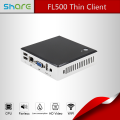 Defaulted DDR3 SSD OEM Fanless Intel Atom Mini Desktop PC