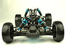 1/10th scale rc buggy kit in Carbon Fibre and Alum,all upgrade parts