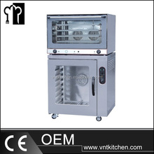 Steaming Function Electrical Oven Combine Proofer Convection Oven