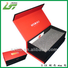 paper clamshell packaging box