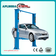 Low price Floor plate 2 post car lifter for sale hydraulic lift for car wash