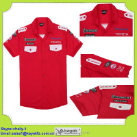 OEM professional wholesale TC f1 short sleeve Motorcycle Racing Shirts for sports